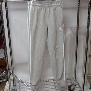 Adidas Three Stripe Sweat Pants Small